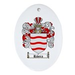 Rivera Coat of Arms Oval Ornament