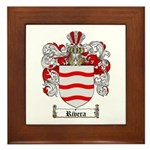Rivera Coat of Arms Framed Tile