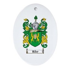 Riley Coat of Arms Oval Ornament