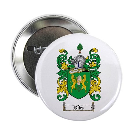 "Riley Coat of Arms 2.25"" Button (100 pack)"