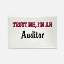 Trust Me I'm an Auditor Rectangle Magnet