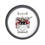 Richardson Coat of Arms Wall Clock