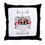 Richardson Coat of Arms Throw Pillow
