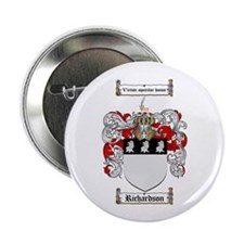 "Richardson Coat of Arms 2.25"" Button (100 pack)"