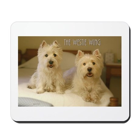 The Westie Wing 2 Mousepad