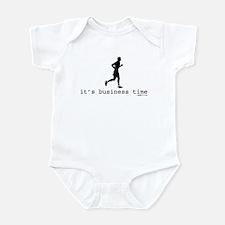 It's Business Time Running Infant Bodysuit
