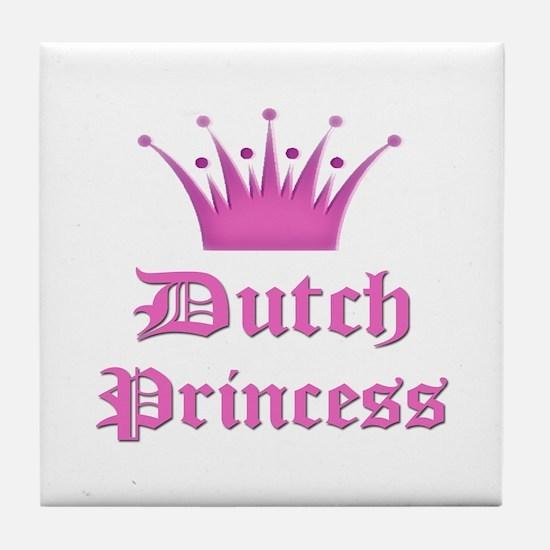 Dutch Princess Tile Coaster