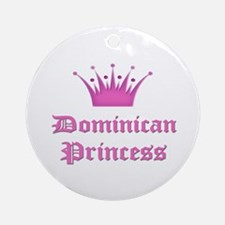 Dominican Princess Ornament (Round)