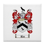 Rice Coat of Arms Tile Coaster