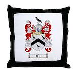 Rice Coat of Arms Throw Pillow