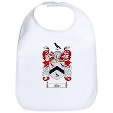Rice Coat of Arms Bib
