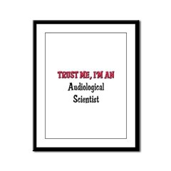 Trust Me I'm an Auctioneer Framed Panel Print