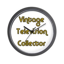 Vintage Television Collector Wall Clock