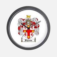 Rhodes Coat of Arms Wall Clock