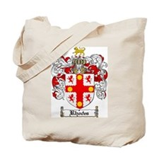 Rhodes Coat of Arms Tote Bag