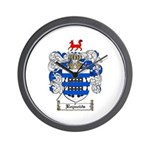 Reynolds Coat of Arms Wall Clock
