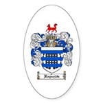 Reynolds Coat of Arms Oval Sticker