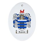 Reynolds Coat of Arms Oval Ornament