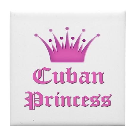 Cuban Princess Tile Coaster