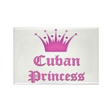 Cuban Princess Rectangle Magnet