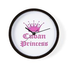 Cuban Princess Wall Clock