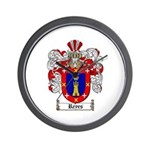 Reyes Coat of Arms Wall Clock