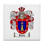 Reyes Coat of Arms Tile Coaster