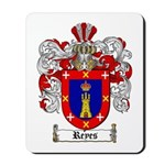 Reyes Coat of Arms Mousepad