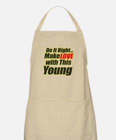 make love with this Young BBQ Apron