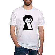 Peeping Tom Keyhole View Shirt