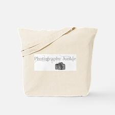 photo junkie Tote Bag