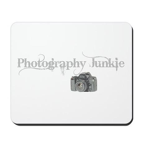 photo junkie Mousepad