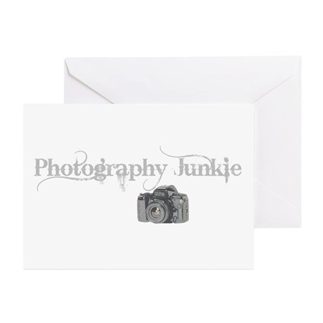 photo junkie Greeting Cards (Pk of 20)