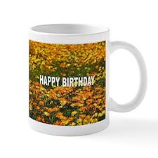 Mug - HAPPY BIRTHDAY FIELD OF FLOWERS