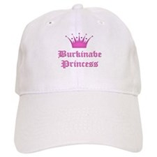 Burkinabe Princess Baseball Cap