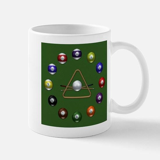 Pool Balls Mug