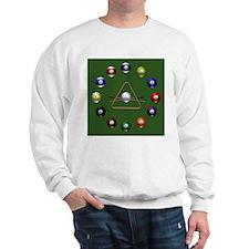 Pool Balls Sweatshirt