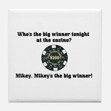 Who's the big winner? Tile Coaster