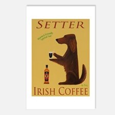 Setter Irish Coffee Postcards (Package of 8)