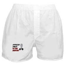 Miles to the Rescue!  Boxer Shorts