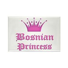 Bosnian Princess Rectangle Magnet