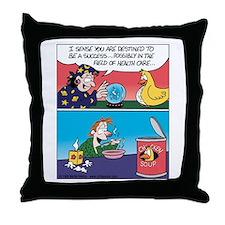 Chicken Soup Healthcare Throw Pillow