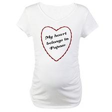 My Heart Belongs to Papaw Shirt