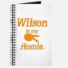 Wilson is my homie Journal