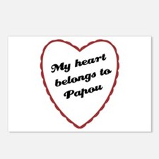 My Heart Belongs to Papou Postcards (Package of 8)