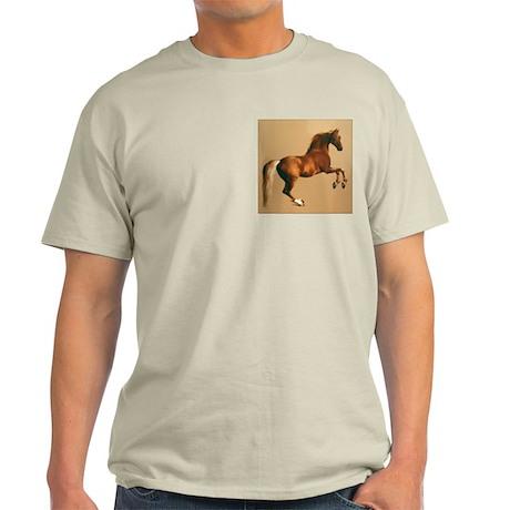 Palomino stallion, horse art. Light T-Shirt