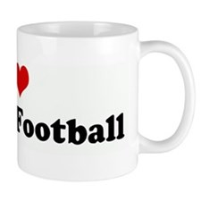 I Love Fantasy Football Mug