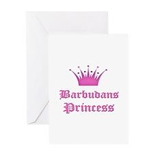 Barbudans Princess Greeting Card