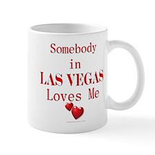 Somebody in LAS VEGAS Mug