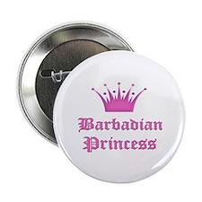 "Barbadian Princess 2.25"" Button"